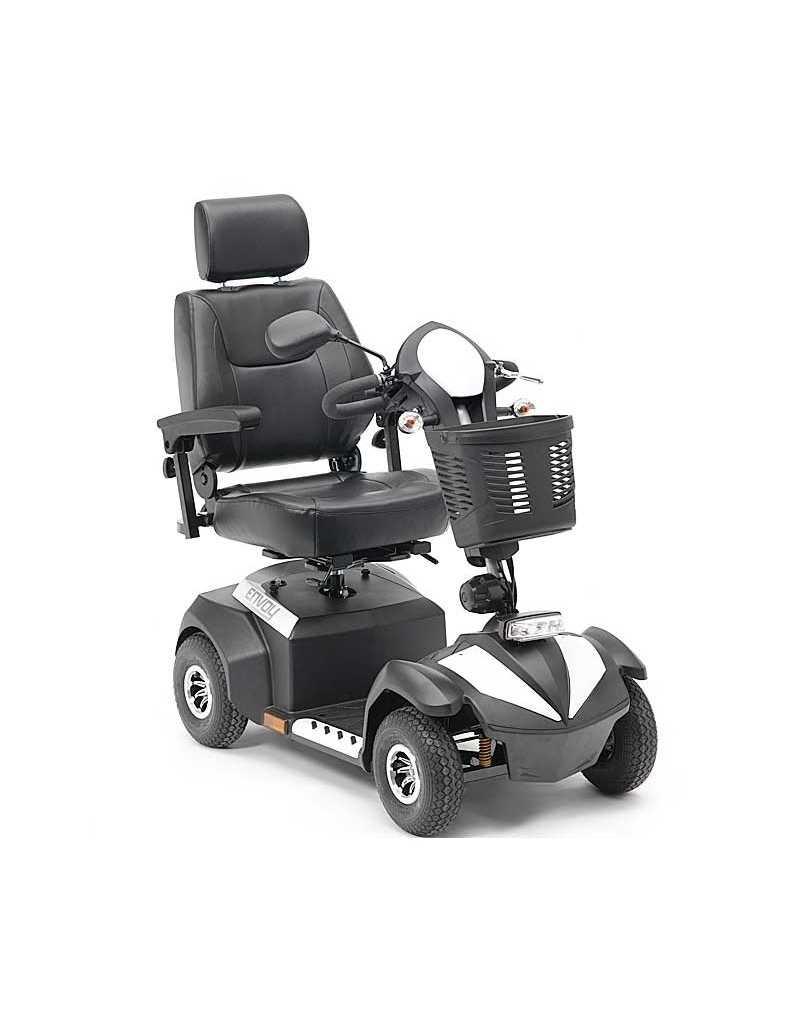 DRIVE Envoy 8 (baterías 50 amperios hora) scooter de movilidad en blanco
