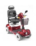 DRIVE Mercury Regatta (baterías 50 amperios hora) scooter de movilidad en rojo
