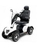 DRIVE Cobra (baterías 70 amperios hora) scooter de movilidad en blanco