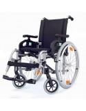 Silla de ruedas en aluminio DROMOS