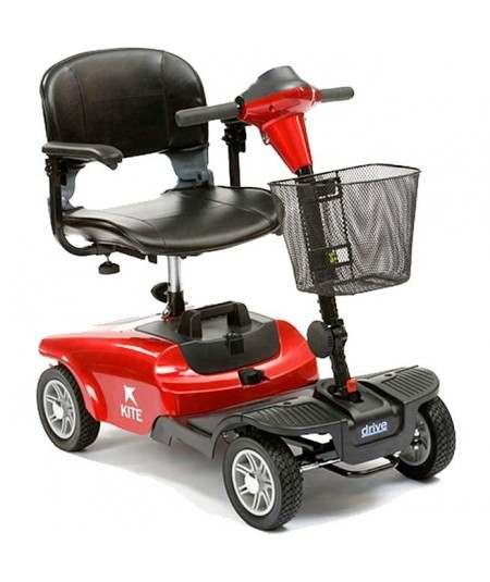 DRIVE Kite  (4 ruedas) scooter de movilidad en rojo