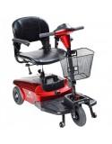 DRIVE Kite (3 ruedas) scooter de movilidad en rojo