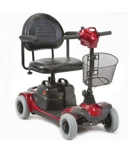DRIVE ST3 baterías 17 amperios hora scooter de movilidad en rojo