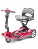 DRIVE Space (3 ruedas baterías 8 amperios hora) scooter de movilidad en rojo