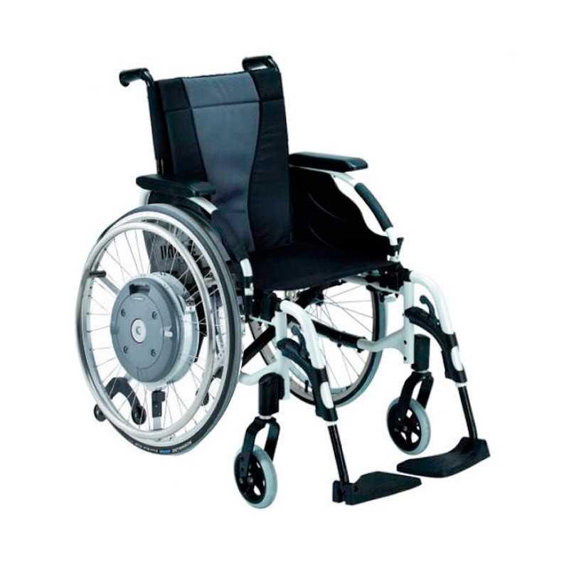 Silla de ruedas en aluminio INVACARE Action 3 Ruedas Grandes 24 pulgadas