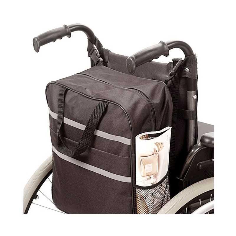 AYUDAS DINÁMICAS Bolsa auxiliar accesorio para sillas de ruedas