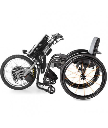 BATEC  Handbike Eléctrico y Silla de ruedas ultraligera Rogue ALX en gris