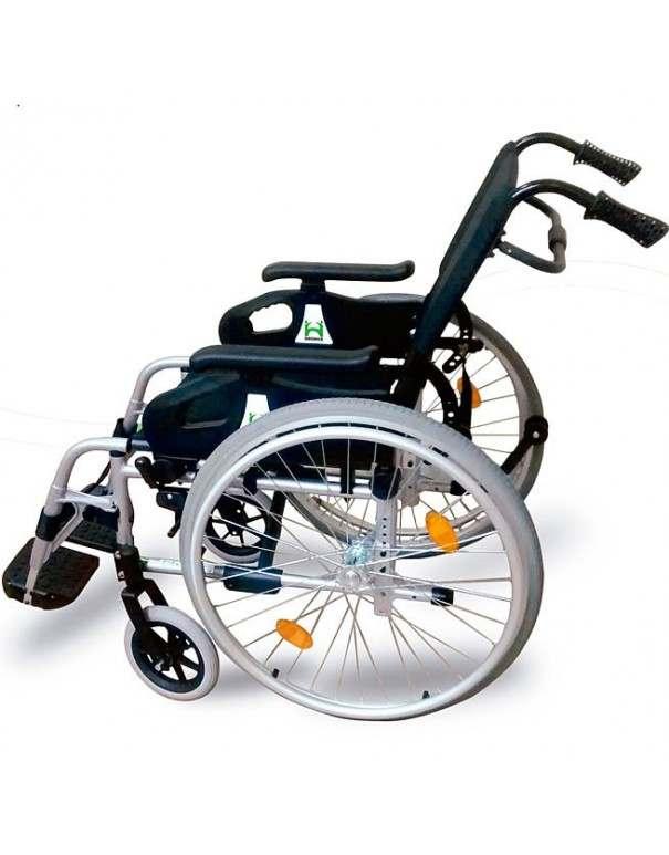 DROMOS Recliner silla de ruedas en aluminio