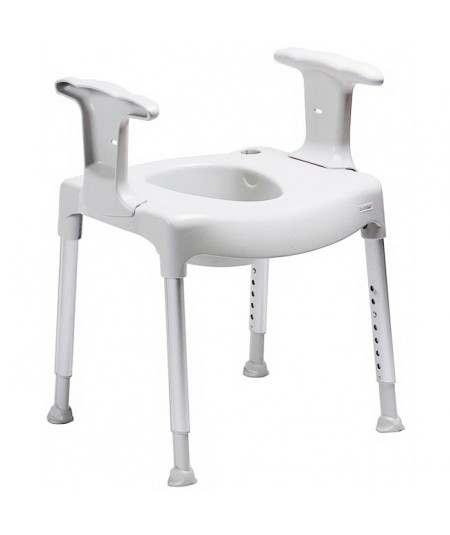 Elevador de asiento inodoro WC Comode Practica ADAS