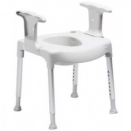 Elevador de asiento inodoro WC ajustable en altura Comode Practica ADAS