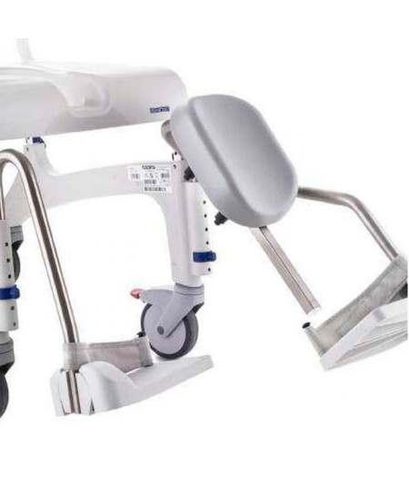 Soporte de pantorrilla con reposapié (unidad) para sillas INVACARE Aquatec Ocean
