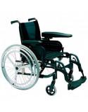 Silla de ruedas en aluminio INVACARE Action 3 Doble Aro Hemiplejia derecha