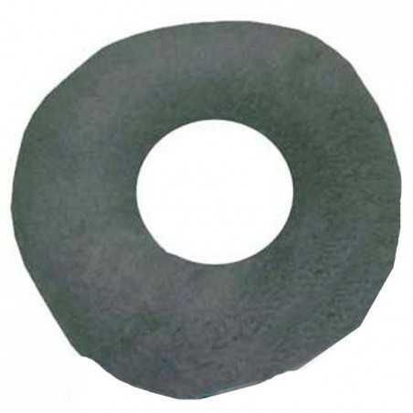 Cojín antiescaras de suapel Sanitized redondo con agujero en gris. UBIO