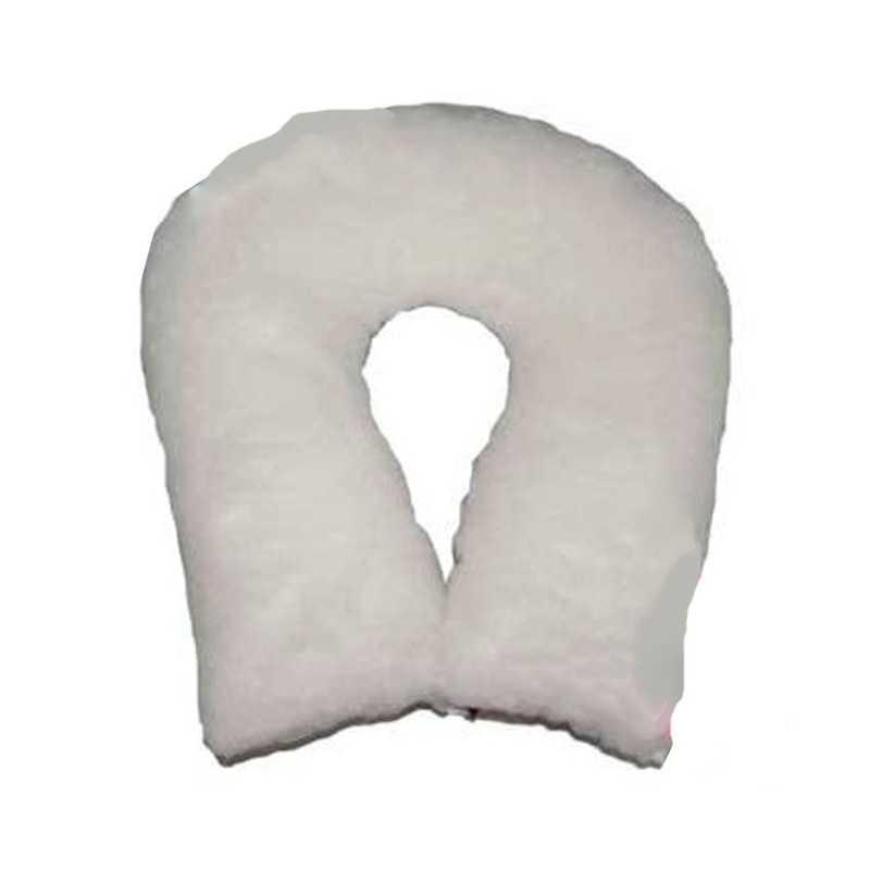 Cojín antiescaras de suapel Sanitized herradura redonda en blanco. UBIO