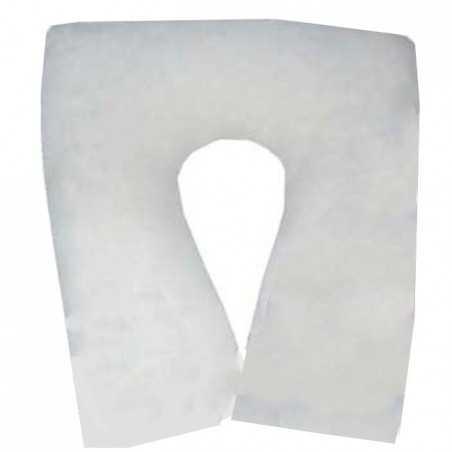 Cojín antiescaras de suapel Sanitized herradura cuadrada en blanco. UBIO