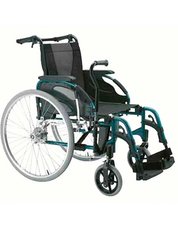INVACARE Action 3 con palanca conducción (Hemiplejia) Silla de ruedas en aluminio