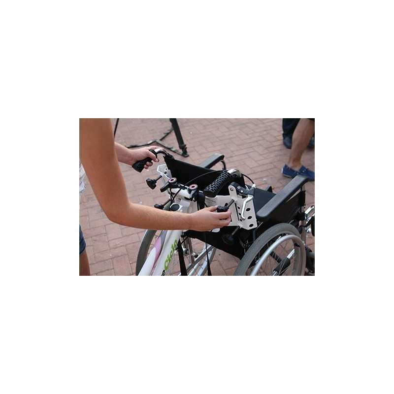 KIT ADAPTA para silla de ruedas y bicicleta