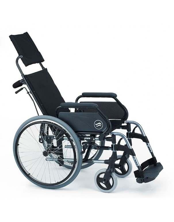 SUNRISE Breezy 300 R silla de ruedas en aluminio con respaldo Reclinable ruedas traseras grandes