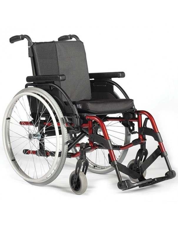 SUNRISE Breezy RubiX 2 silla de ruedas en aluminio con doble aro para hemiplejia