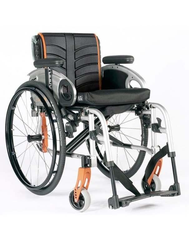 SUNRISE Quickie Life silla de ruedas en aluminio con reposapiés desmontables