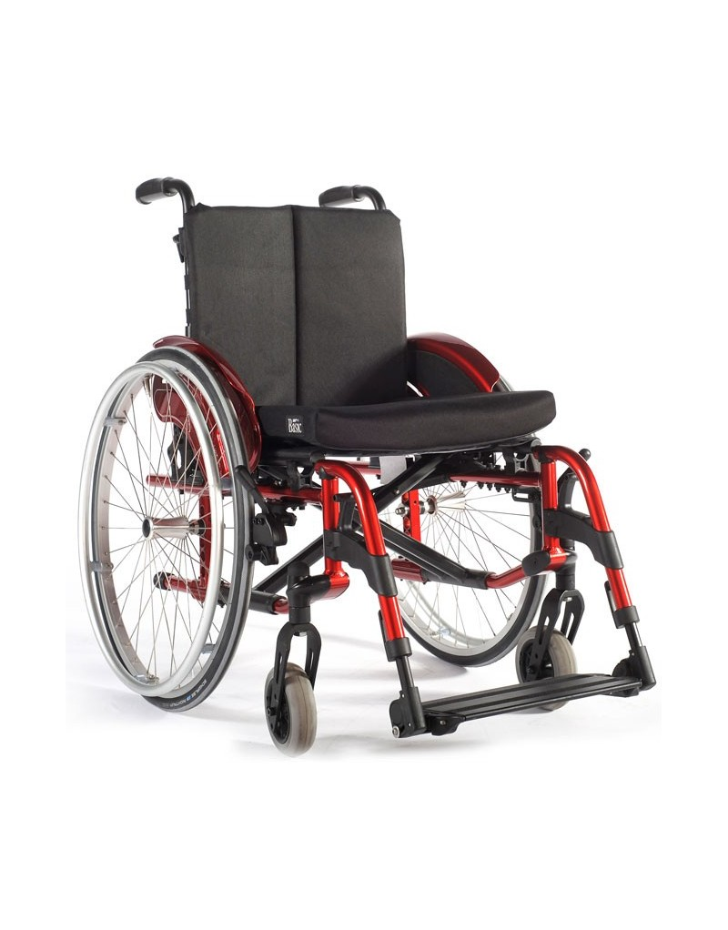 Silla de ruedas en aluminio SUNRISE Quickie Helix2