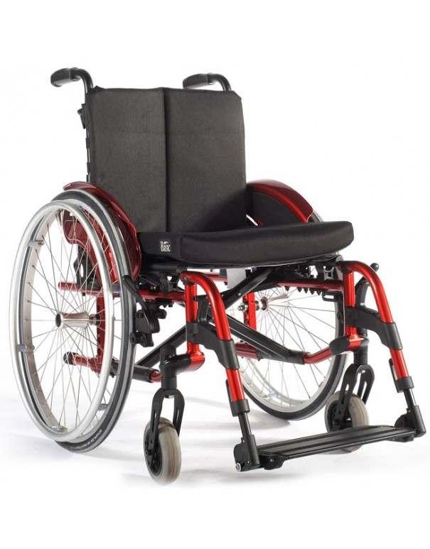 SUNRISE Quickie Helix2 XL silla de ruedas en aluminio