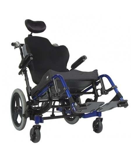 Silla de ruedas en aluminio SUNRISE Quickie Iris. Posicionamiento