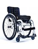 Silla de ruedas en aluminio SUNRISE Quickie Xenon 2 reposapiés fijos y armazón reforzado