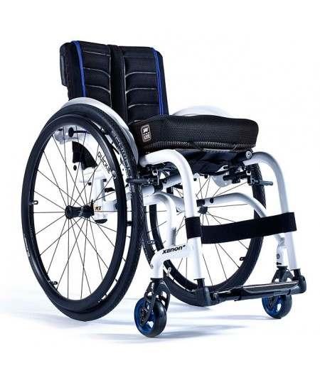 SUNRISE Quickie Xenon 2 silla de ruedas en aluminio con reposapiés fijos y armazón híbrido