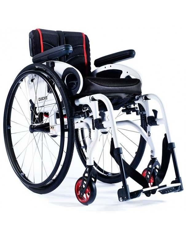 SUNRISE Quickie Xenon 2 silla de ruedas en aluminio  con reposapiés desmontables