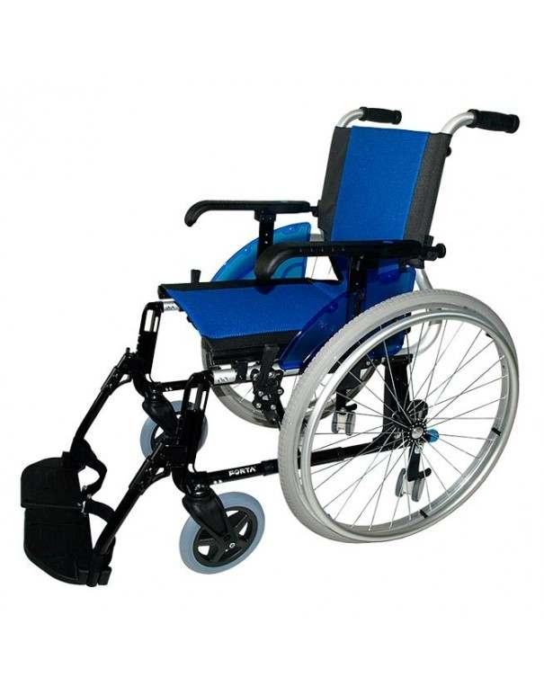 FORTA Line Giro silla de ruedas en aluminio. Ruedas traseras intercambiables