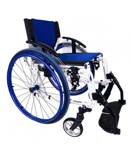 FORTA Sport Line silla de ruedas en aluminio azul