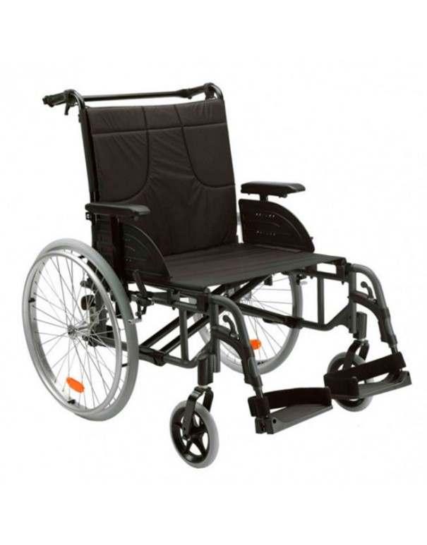 INVACARE Action 4 Heavy Duty (bariátrica) silla de ruedas en aluminio