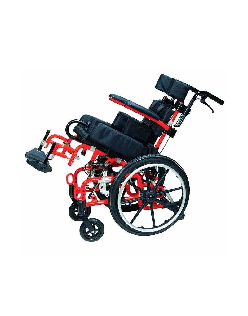 DRIVE Kanga silla de ruedas en alumnio plegable para niños