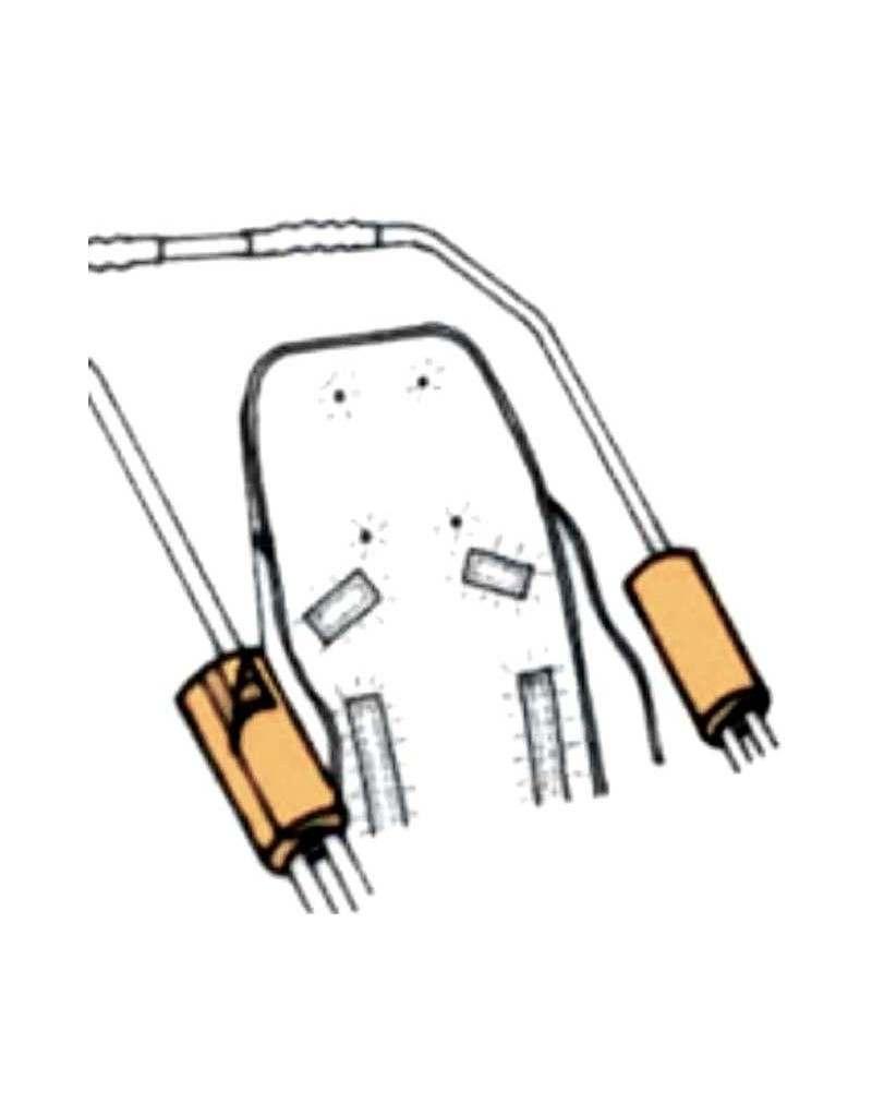 Protectores de barras (par)  REHAGIRONA Rehatom 4 accesorio para silla pc