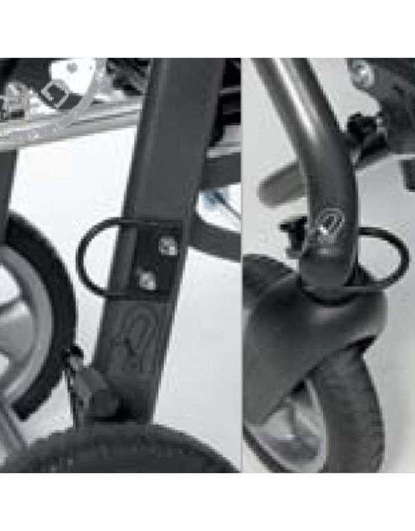 Anclajes para el transporte en vehículos SUNRISE Swifty accesorio para silla pc