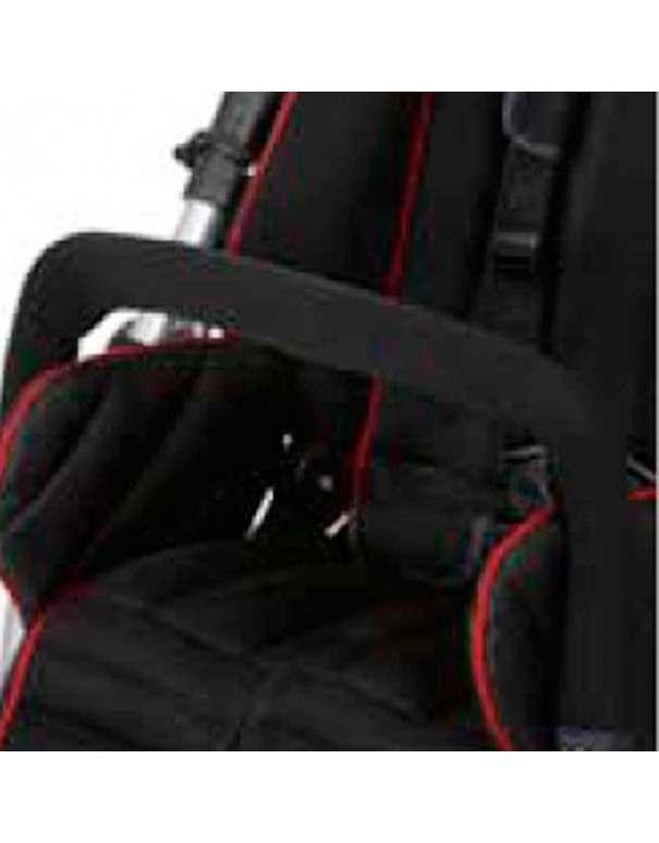 Barra protectora, color negro SUNRISE Swifty accesorio para silla pc