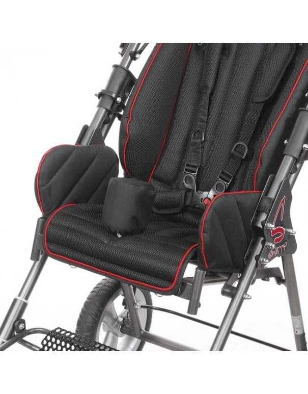 Cuña abductora, color negro SUNRISE Swifty accesorio para silla pc