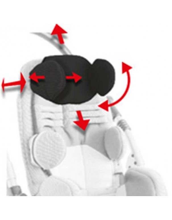 Apoyacabeza con protecciones accipitoparietales AYUDAS DINÁMICAS accesorio Bug