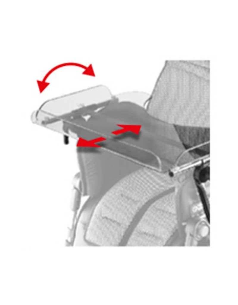 Mesa transparente AYUDAS DINÁMICAS accesorio Bug