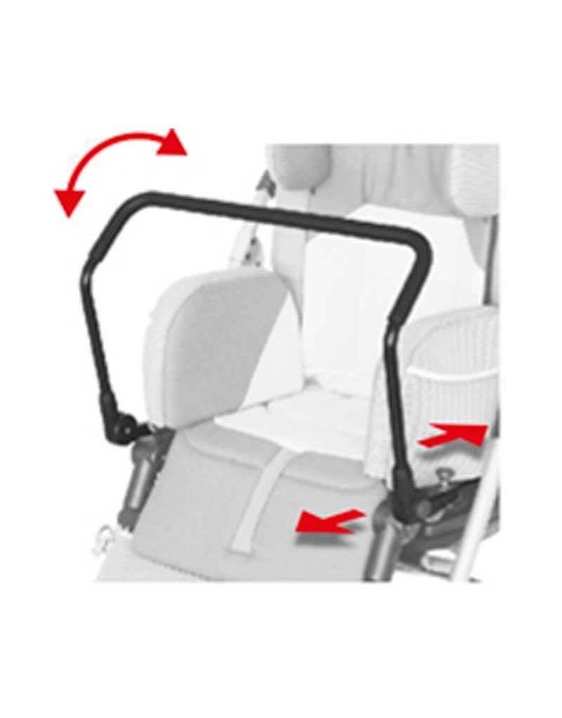 Barra de apoyo frontal AYUDAS DINÁMICAS accesorio Bug