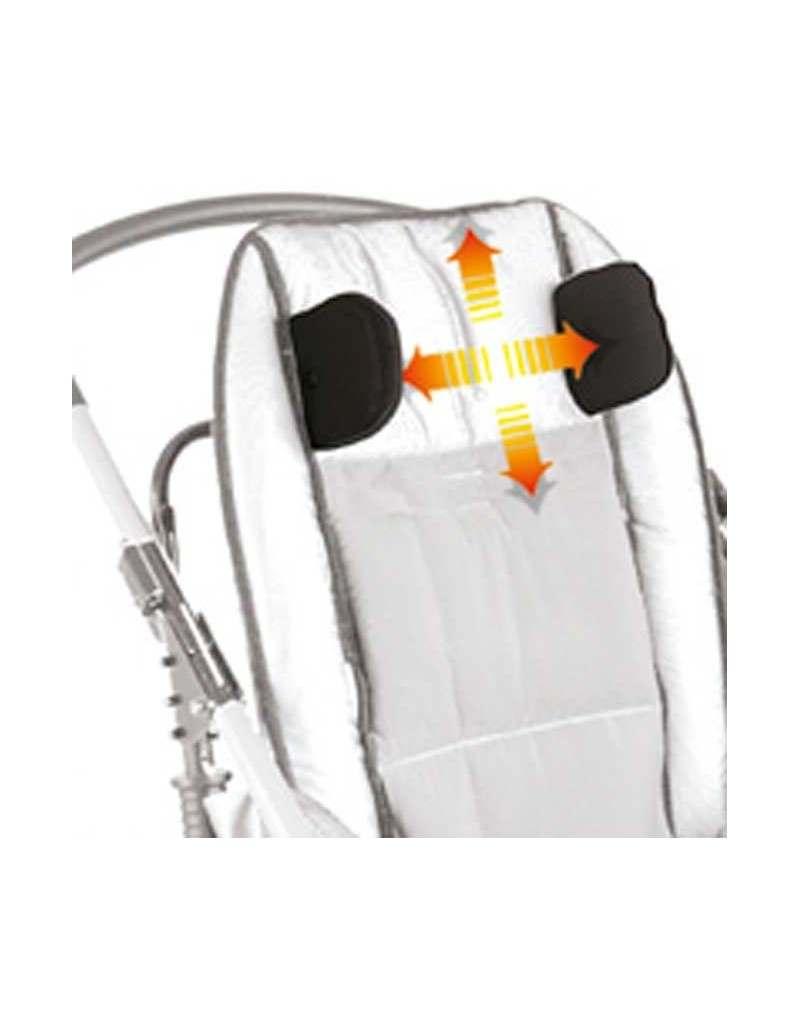 Apoyacabeza con protecciones parietales AYUDAS DINÁMICAS accesorio Novus