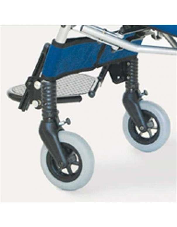 Bloqueo dirección. Orientadores de ruedas delanteras AYUDAS DINÁMICAS accesorio silla Clip