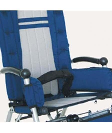 Correa pélvica de 45º. Cinturón pélvico AYUDAS DINÁMICAS accesorio silla Clip