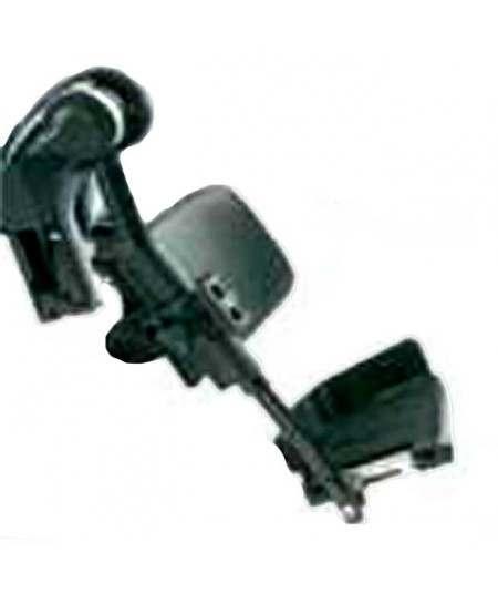 Reposapiés elevable manual (unidad) paleta fija INVACARE accesorio para silla de ruedas eléctrica Dragon Plus