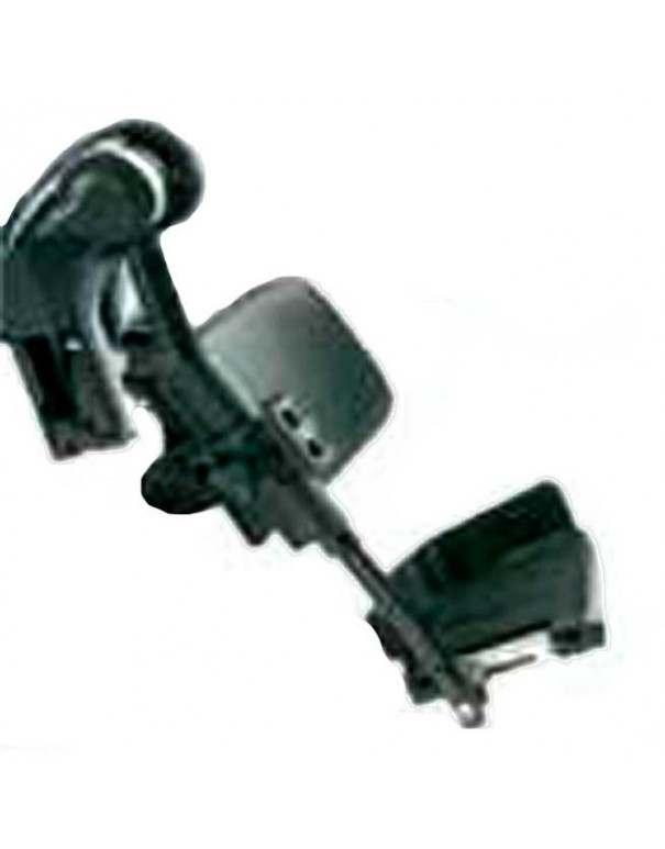 Reposapiés elevable manual (unidad) paleta fija INVACARE accesorio para silla de ruedas eléctrica Esprit Action 4