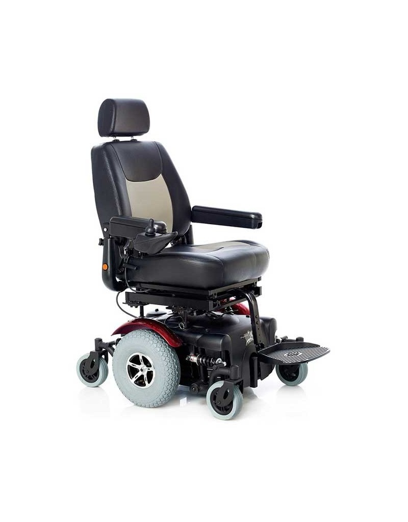 TEYDER Singapur silla de ruedas eléctrica con reclinación y elevación de asiento de serie