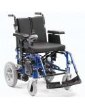 DRIVE Enigma Energi silla de ruedas eléctrica en azul