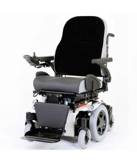 SUNRISE Salsa M2 (configurada) silla de ruedas eléctrica en blanco