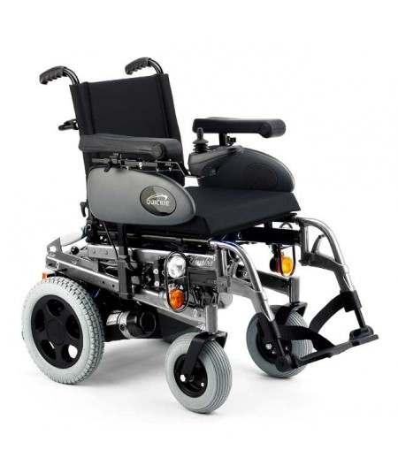 SUNRISE Salsa Rumba (estándar) silla de ruedas eléctrica gris selenio